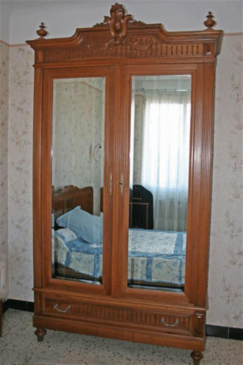 armoire à glace ancienne armoire glace lit 233 es 20 style clasf