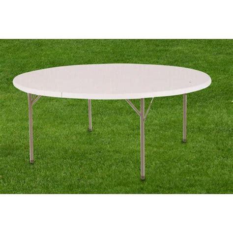 tavolo tondo pieghevole tavolo tondo pieghevole da 154x74 cm