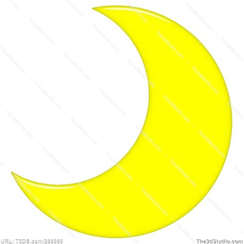 crescent moon clipart yellow crescent moon clipart clipart suggest