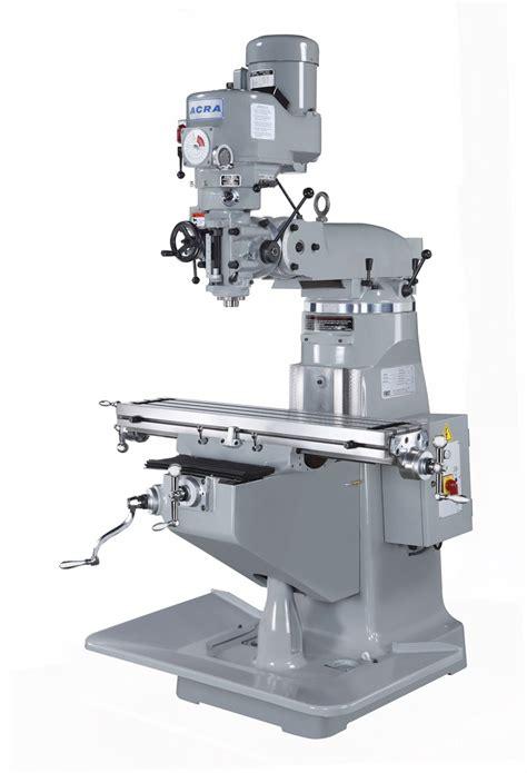 acra variable speed vertical mill lctm elite metal tools