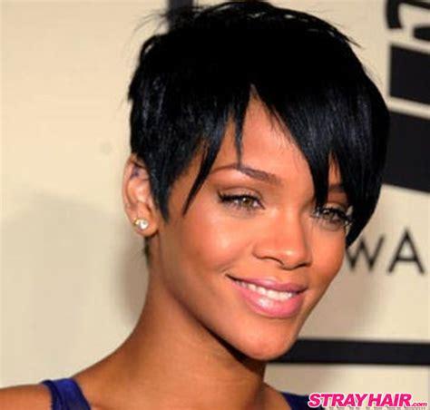 Rihannas Many Great Short Hairstyles ? StrayHair