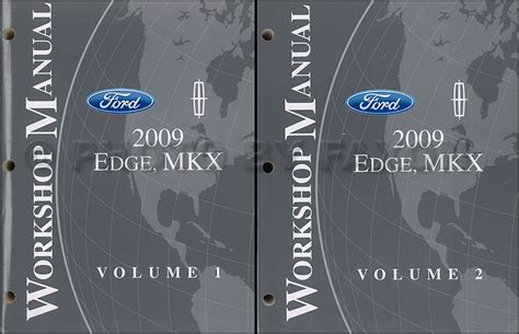 car maintenance manuals 2009 ford edge engine control 2009 ford edge lincoln mkx wiring diagram manual original