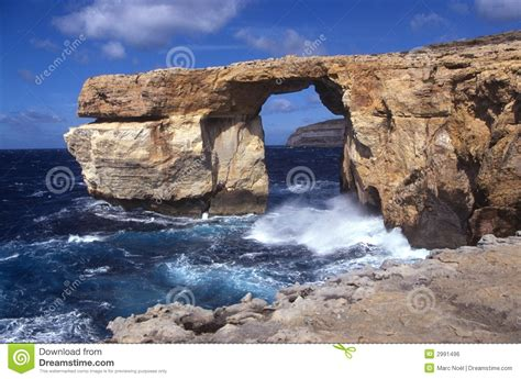 azure malta azure window malta royalty free stock image image 2991496