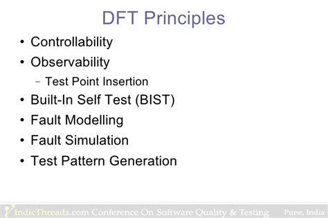 test pattern generation for bist ppt designing software for testability a forgotten design pattern