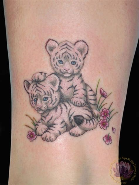 baby tiger tattoo baby tiger tattoos pictures