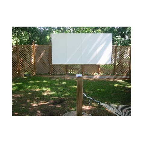 budget outdoor theater ideas
