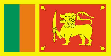 flags of the world lion sri lanka flag and description
