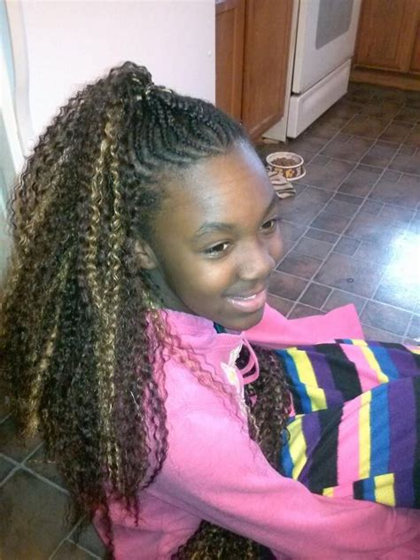 natural mohawk front view hairgoals2014 pinterest front view of her mohawk cornrow styles for little