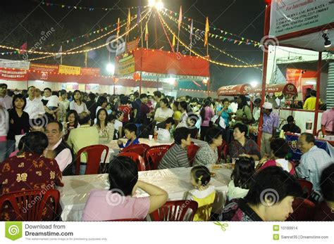 the chinese new year celebration in kolkata india