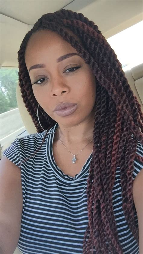 different color marley twists marley twists protectivestyles summer lipstick