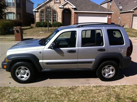 Jeep Liberty Trail Sell Used 2006 Jeep Liberty Sport Trail 4x4 In