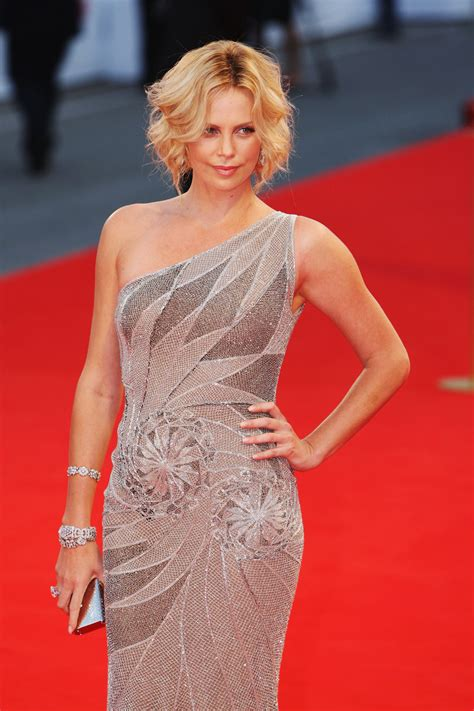 Charlize Theron Pretends To Model by Model Charlize Theron Wallpapers 6667