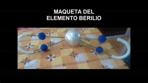 como hacer una maqueta 5 youtube como hacer maqueta del elemento berilio youtube