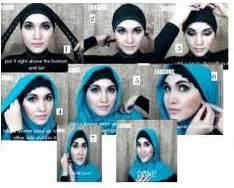 tutorial pashmina tumpuk cara memakai jilbab muslimah cara memakai jilbab segi