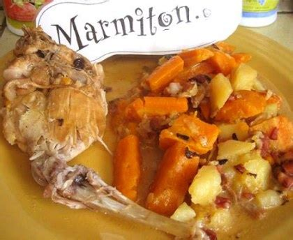 cuisiner le lapin en cocotte lapin au vin blanc 224 la cocotte recette de lapin au