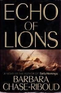 the echo of others books echo of lions by barbara riboud