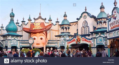 themes tokyo story toyville trolley park toy story themed attraction at