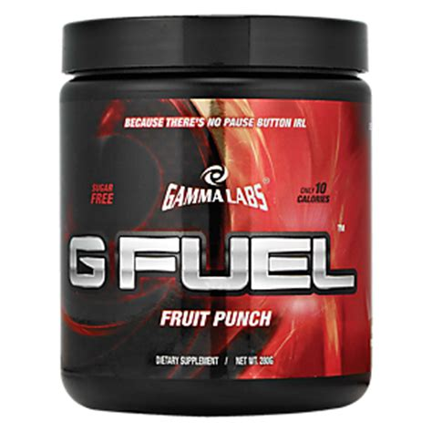 g fuel fruit punch product image for g fuel fruit punch 280 grams powder