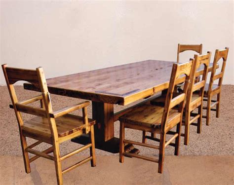 Mission Style Dining Table And Chairs Mission Style Table And Chairs Marceladick