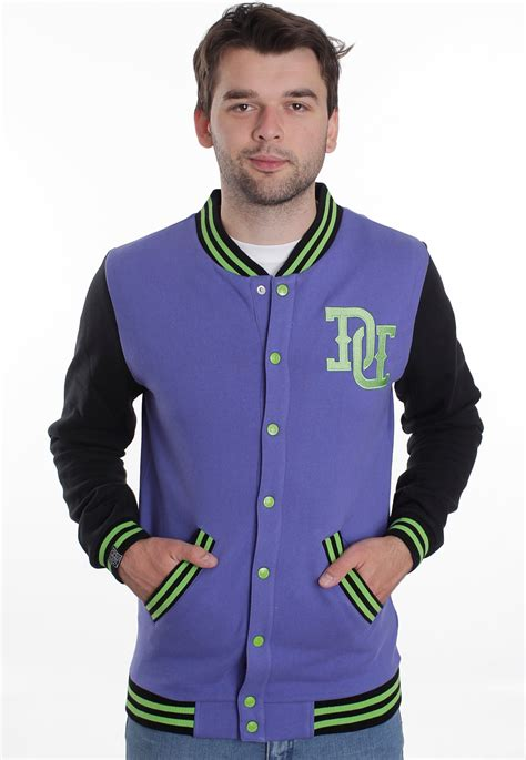 Jaket Drop Dead Tiger Black drop dead brainz varsity 2 0 purple black teddy impericon fr
