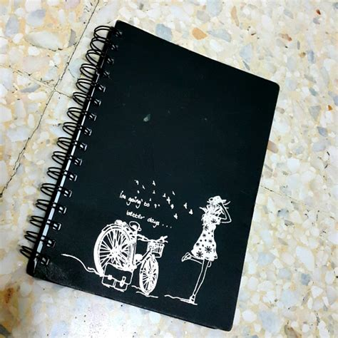 Notebook Cover Notebook diy spiral notebook cover diy do it your self