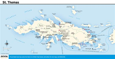 st vi map printable travel maps of the islands moon