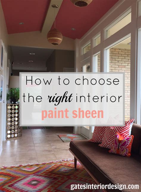 Interior Paint Sheen by 187 How To Choose The Right Interior Paint Sheen