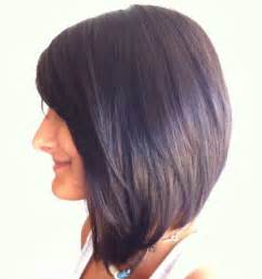 Innovative Angled Bob Hairstyles With Fringe Accordingly Inspiration Article