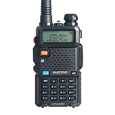 baofeng uv 5r walkie talkie 5w 128ch dual band two way radio uhf vhf fm vox pofung uv 5r ham