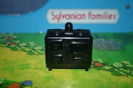 Sylvanian Families Original Cat With Oven Set sylvanian families kitchen