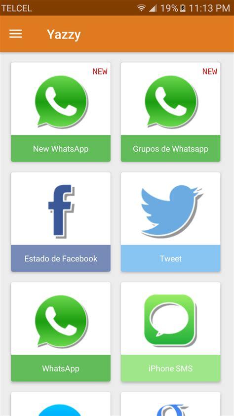 tutorial para utilizar whatsapp tutorial c 243 mo crear conversaciones falsas de whatsapp