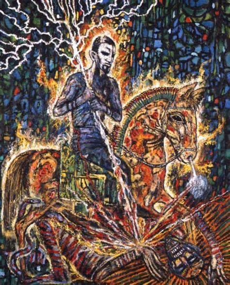 inside the mind of horror the paintings of clive barker