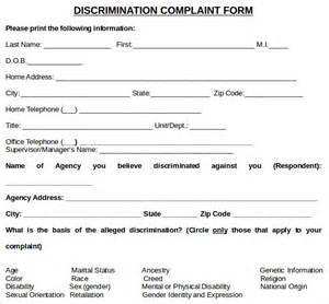sample civil complaint form 6 download free documents