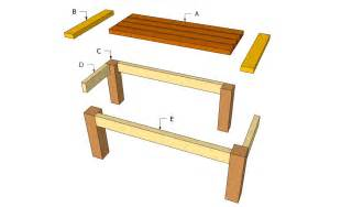 Wood Patio Table Plans Woodwork Plans For Outdoor Wood Tables Pdf Plans