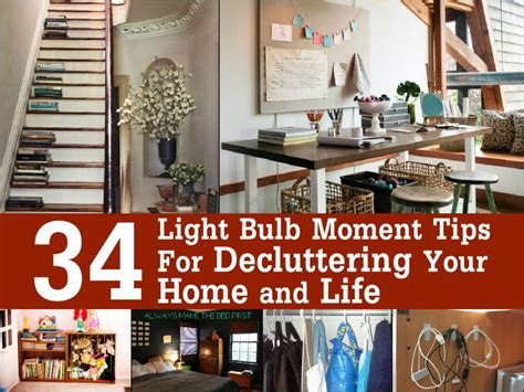 pinterest de cluttering ideas 34 light bulb moment tips for decluttering your home and