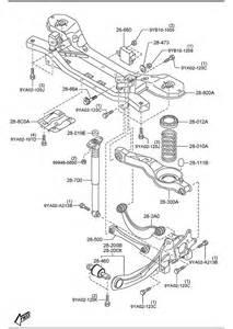 mazda 5 rear suspension mechanisms
