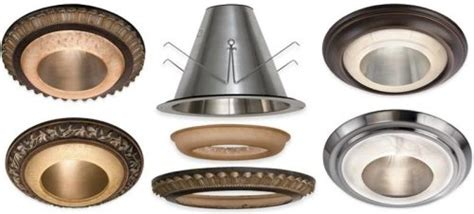another way to change the look of recessed downlights