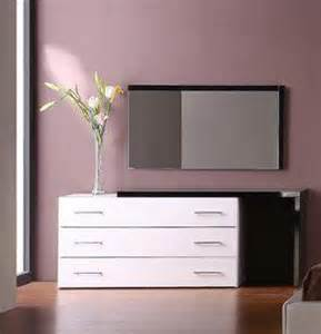 modern bedroom dressers white lacquer contemporary dresser with black lacquer