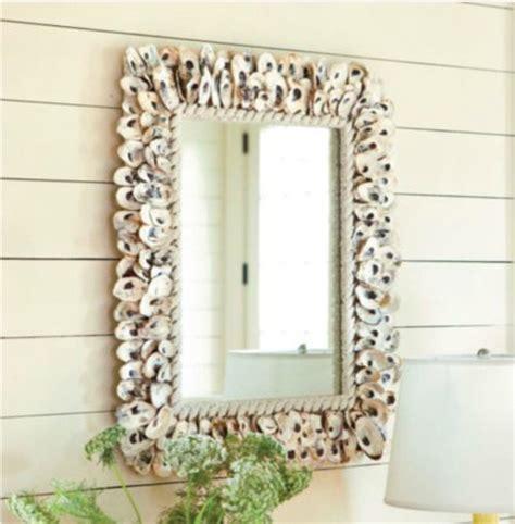 tropical bathroom mirrors oyster shell mirror tropical wall mirrors by ballard