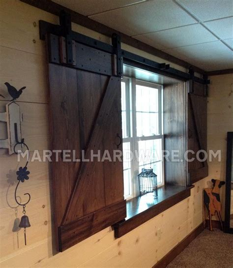 Barn Doors With Windows Ideas Best 25 Interior Window Shutters Ideas On Pinterest