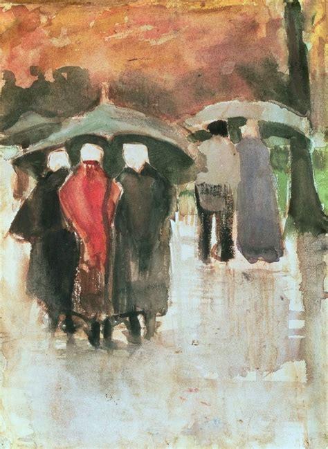 van gogh the life vincent van gogh in the rain 1882 street life art vincent van gogh rain and