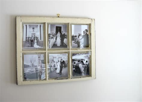 picture frame ideas vintage window pane picture frame interior design ideas