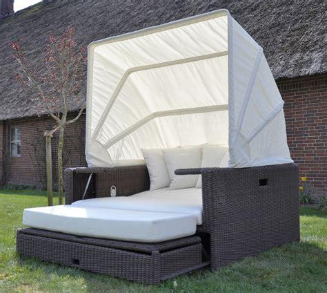 Lounge Liege Garten by Lounge Garten Polyrattan Liege Sonneninsel Liegeinsel Domus Ventures Cukro Ebay
