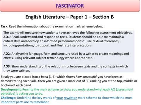 section a english aqa new specification paper 2 understanding 19th century