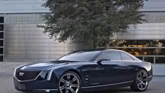 2 Door Cadillac Coupe Cadillac Shows Big Two Door Coupe Concept Car Cbs News