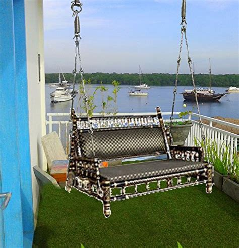 indoor swings for home india buy kaushalendra swings sankheda indoor balcony wooden