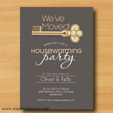 invitation new design housewarming invitation new house key design invitation
