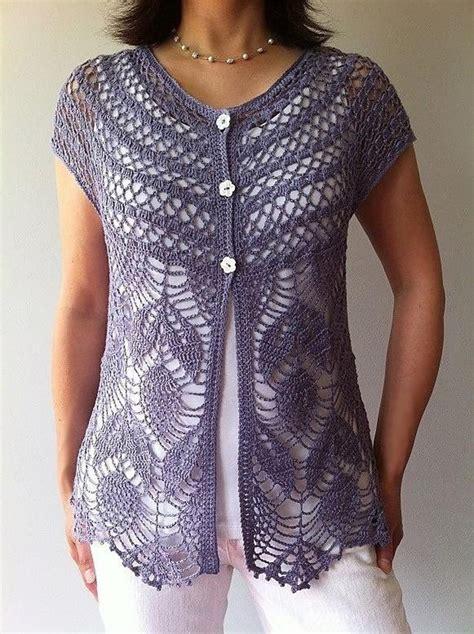 crochet shirt pattern youtube jamie short sleeve vest crochet pattern by vicky chan