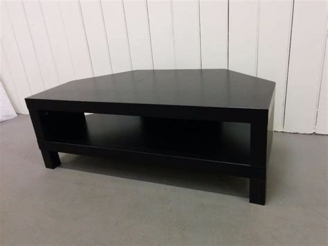 Ikea Lack Inside by Ikea Black Corner Tv Stand Bench Good Condition In Immingham Lincolnshire Gumtree