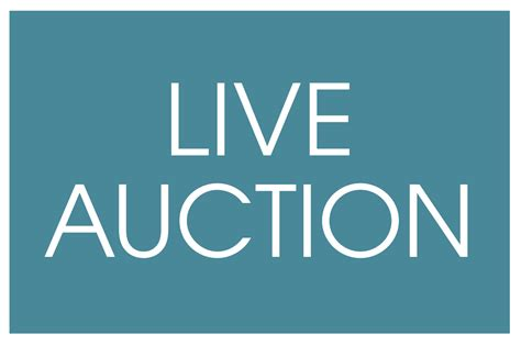 live bid auction check out the live auction items at the foundation